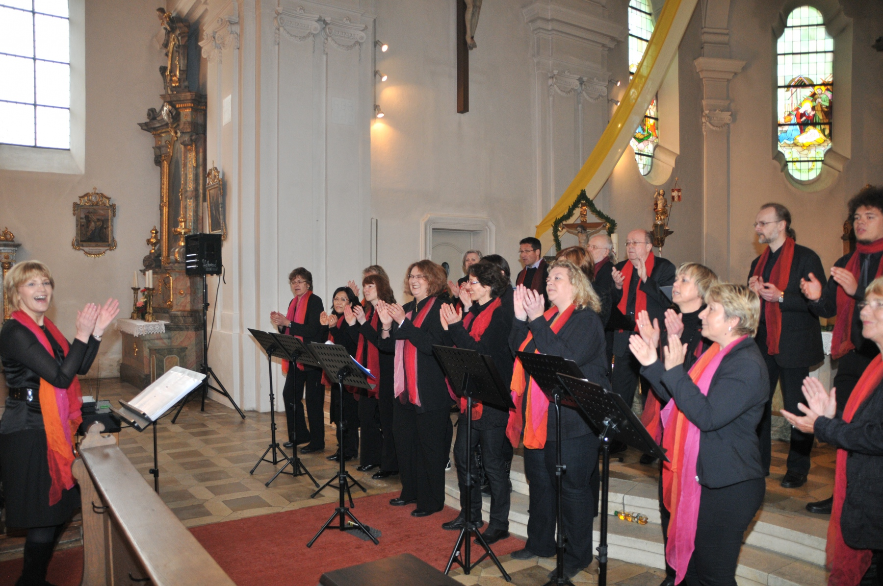 Hohengebraching-JohannesSingers-Gospelkonzert-2013-in-Aktion-1